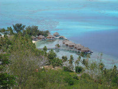 One of the resorts that have closed on Bora Bora given the economic downturn