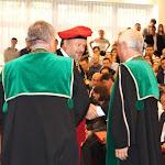 A Debreceni Egyetem bronzplakettjének átadása