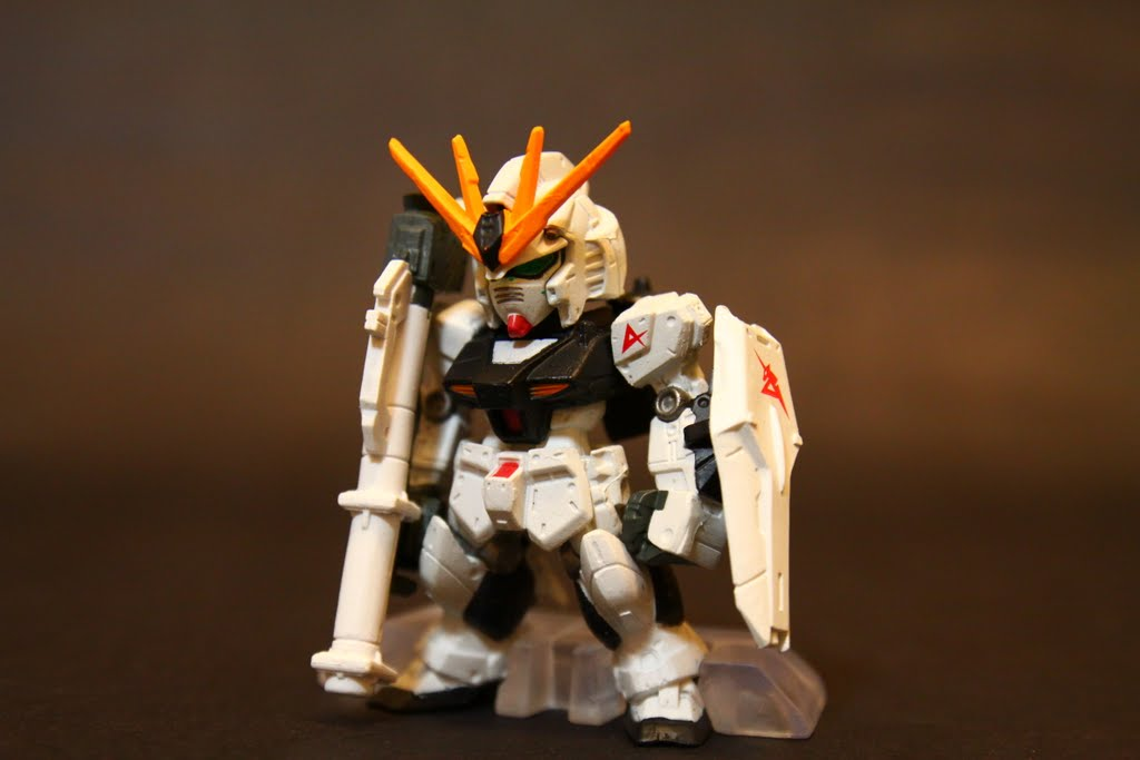 No.14 Nu GUNDAM-Bazooka+Shield