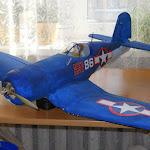 Первая версия (очень удачная!) потолочного Corsair F4U