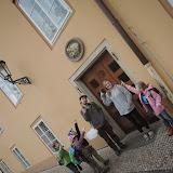 ... a venku pak hledáme domovní znamení. Zde třeba Dům u Zlatého beránka.