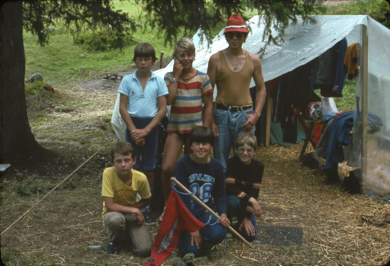 1981 Sommerlager JW - SolaJW81_105-SMILE
