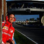 Esteban Guitierrez at Ferrari