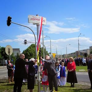 2014 rok - Nadanie nazwy Węzłowi Antoniego Jasińskiego. Fot. W. Talbierz, C. Pettke