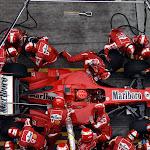 Michael Schumacher, Ferrari F2006 pitstop