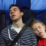 Cesta autobusem byla velice únavná...
