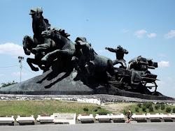 Na ulazu u Rostov, spomenik brocima u I svetskom ratu