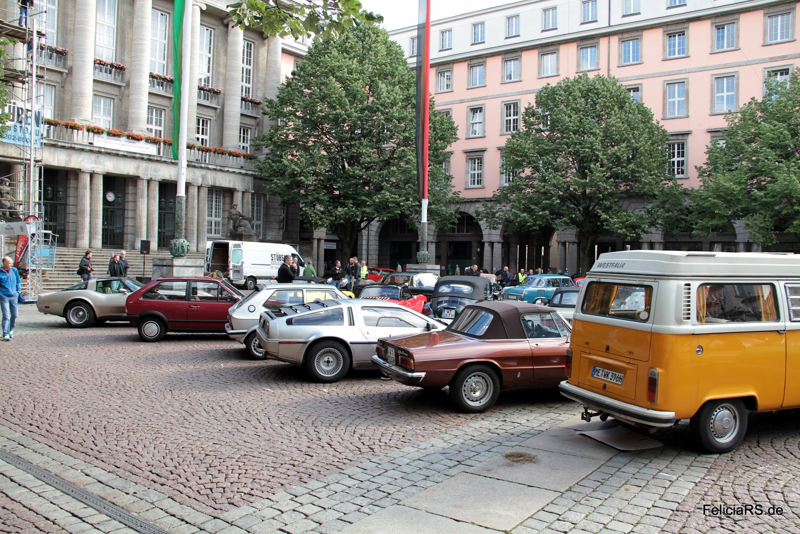 Johannes Rau Platz Wuppertal Barmen