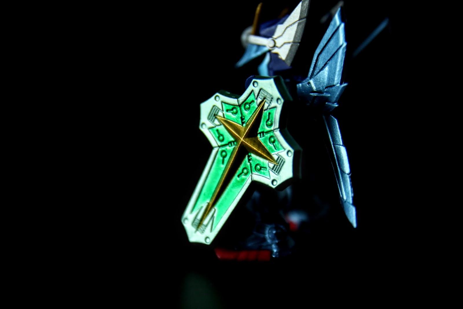 三神器之一的力之盾, 顏色也是金屬綠的很漂亮