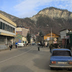 Passing Borjomi on a 3-hour marshrutka ride to Bakuriani