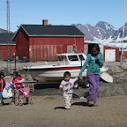 In Greeland there are lots of small children, maybe because of long and dark nights in winter?