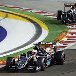 Sergio Perez & Nico Hulkenberg, Force India VJM08 Mercedes