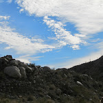 The desert skies cleared just in time for a hike back to the LandCruiser