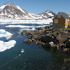 Nice harbour, the cold water is also good for storing of killed sea animals