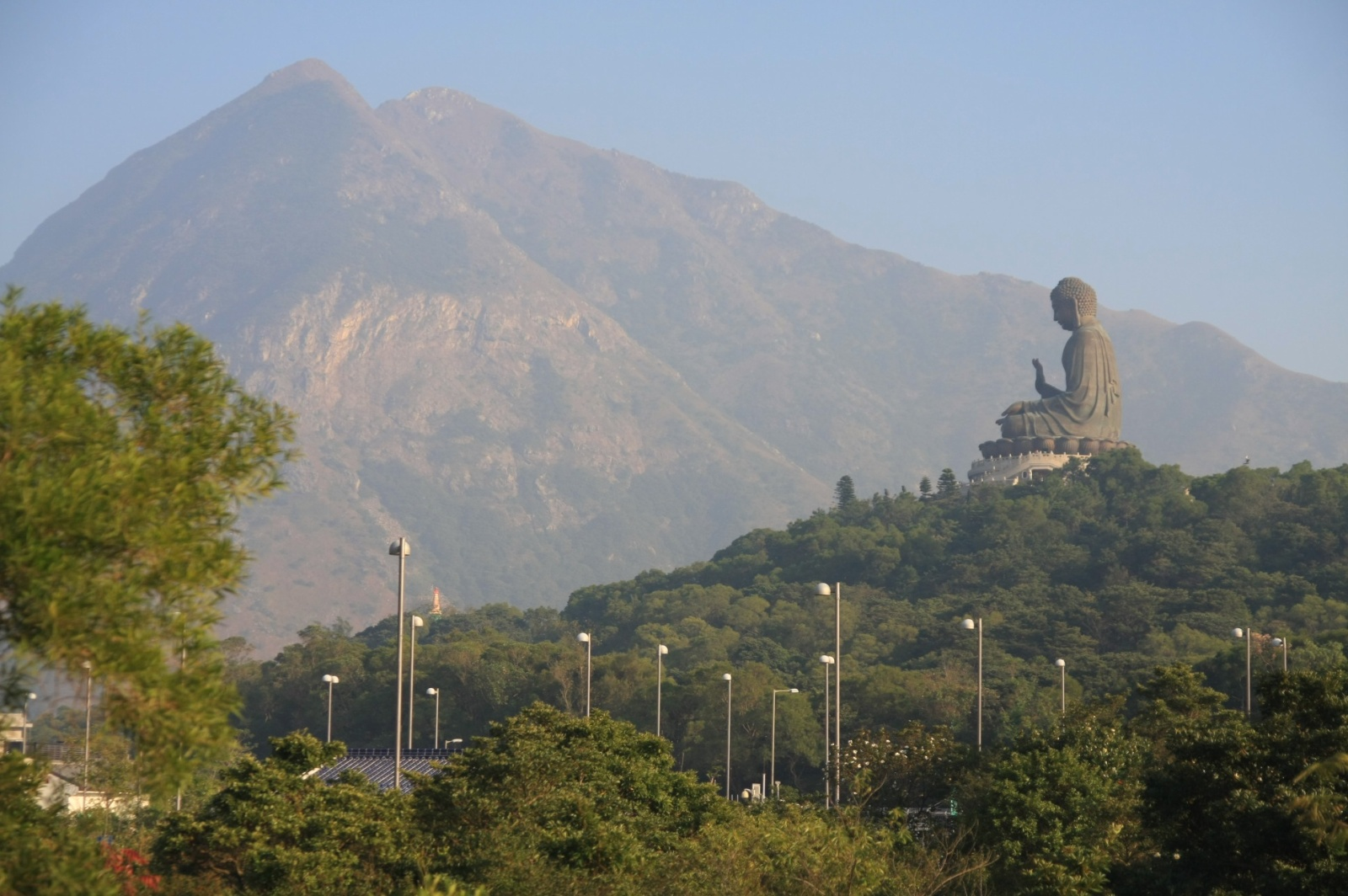 Another Big Budda for us - the Tian Tan Buddha, 34 m tall, recently was the tallest buddha in the world