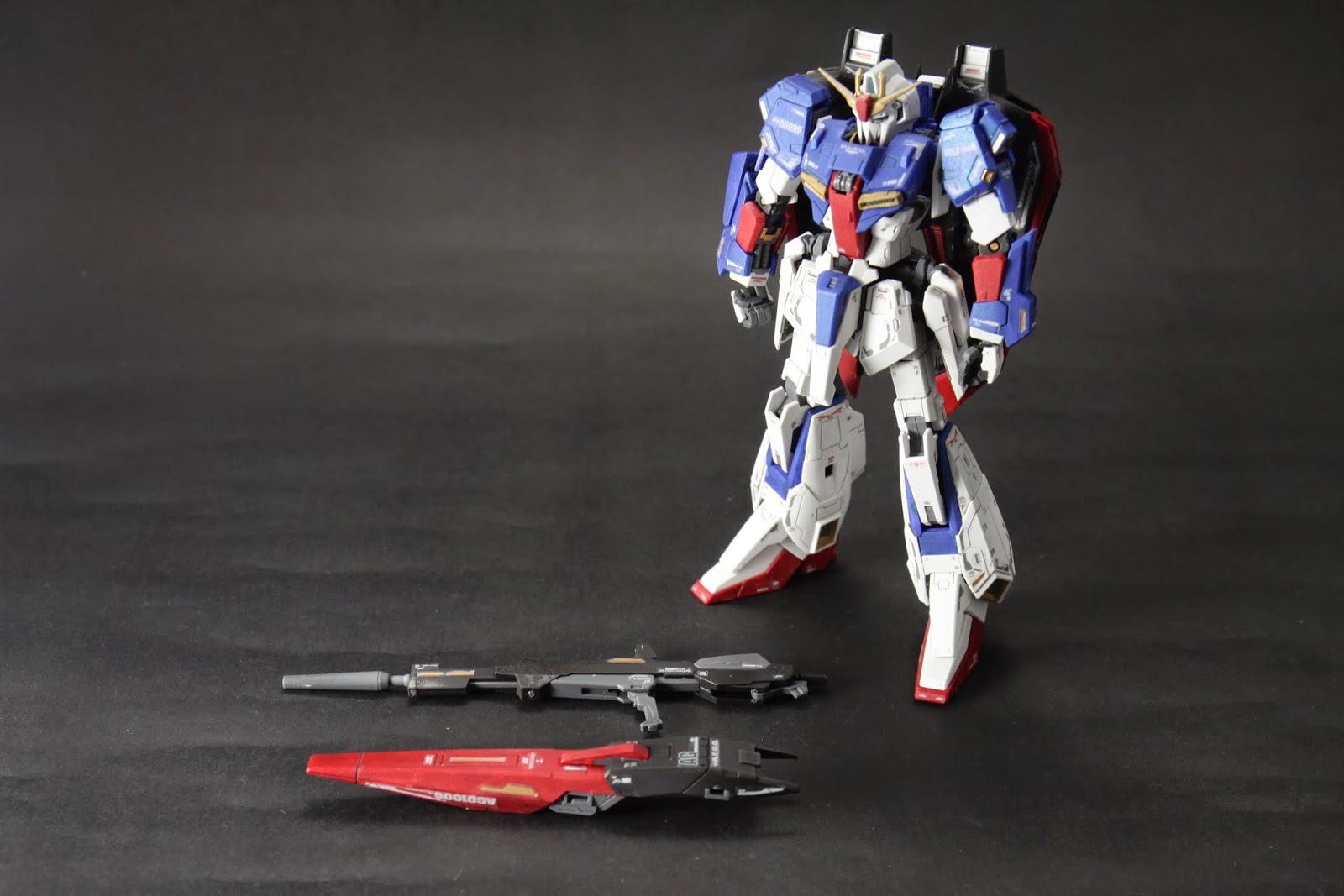武器只有盾跟槍 Mega Beam Launcher沒有附......