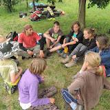 Cestou jsme si ještě udělali oběd, dojedli zásoby, chvilku si odpočali a pak došli poslední úsek cesty zpět do tábora