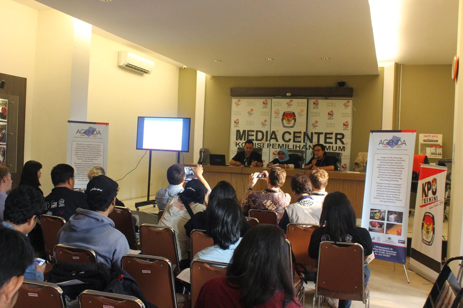 AGENDA PressConference at KPU Media Center  9 July 2014