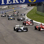Start of 2003 San Marino F1 GP