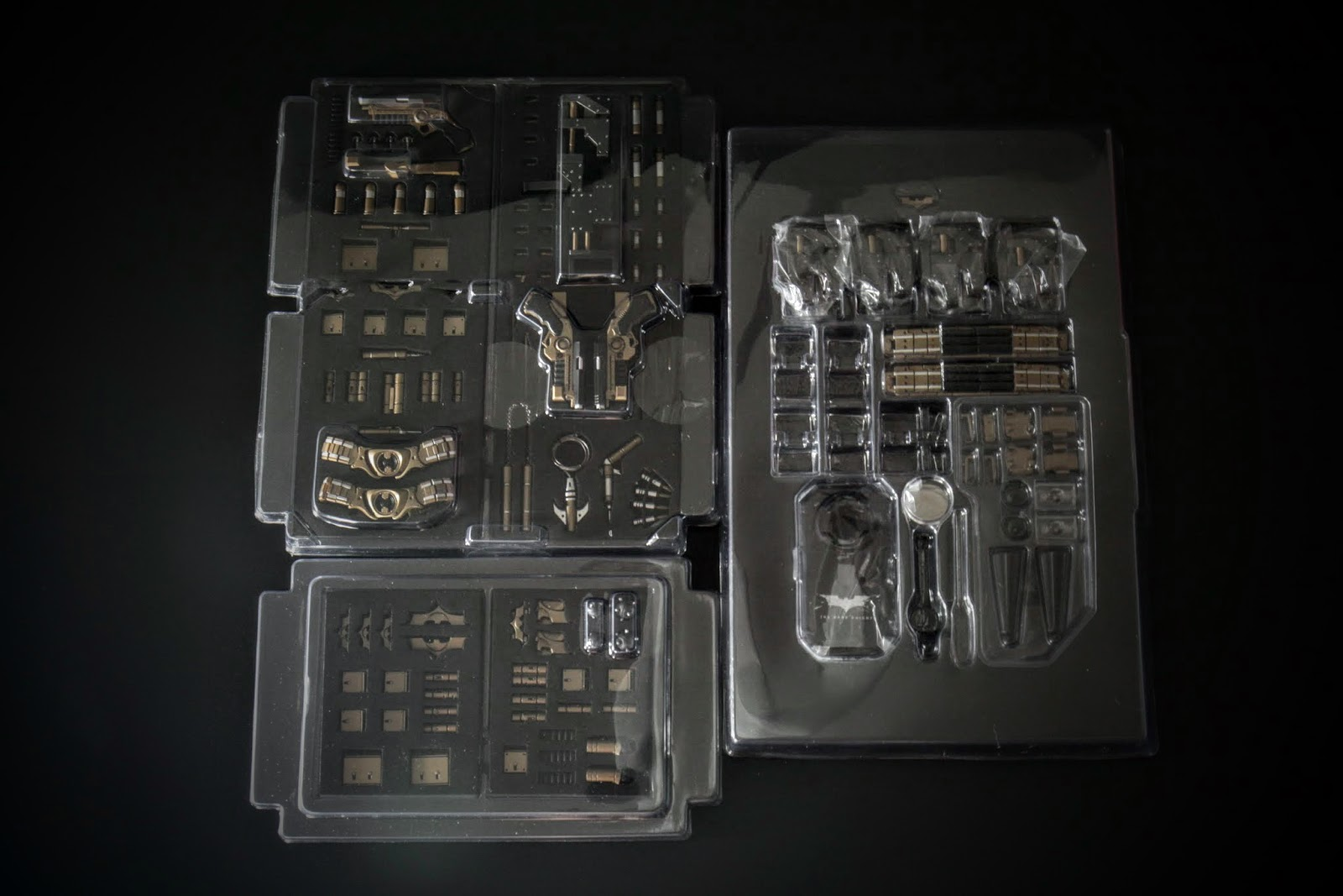 內容物一覽Part 2,武器配件區