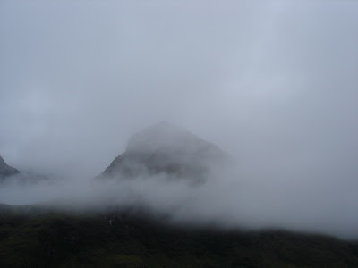 """One of the """"three sisters"""" in Glen Coe"""