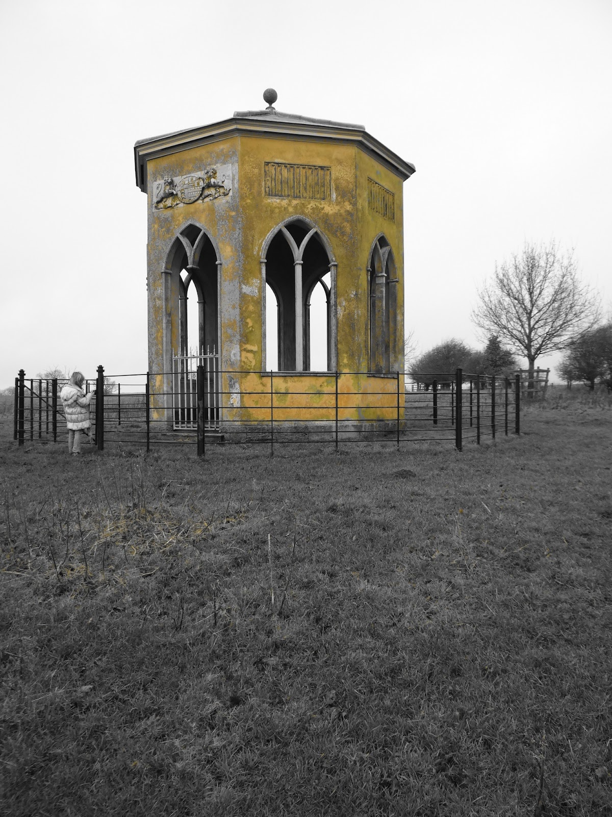 Folly with Yellow Filter