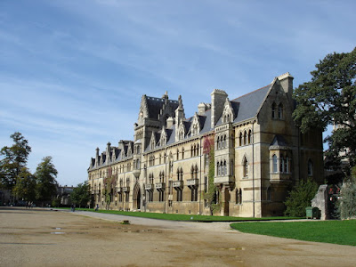 Christ Church College. The only college I toured.