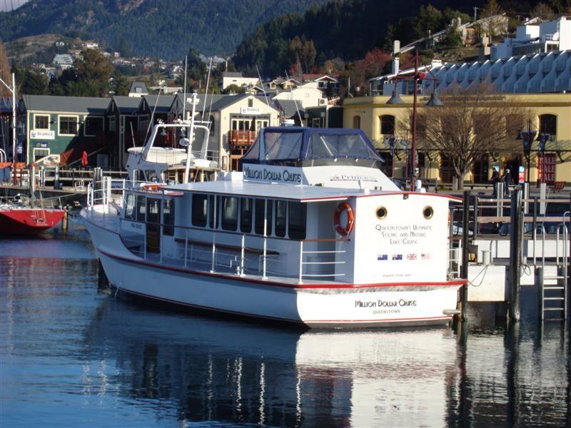 """The """"Million Dollar Cruise"""" boat I went on"""