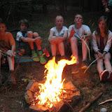 Večeře - bizon na ohni (2)