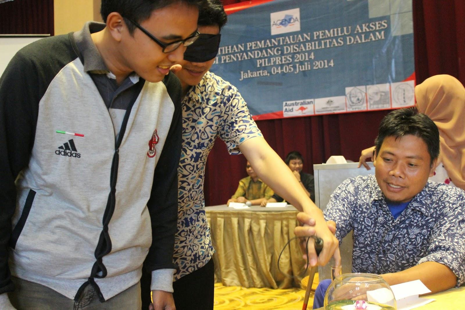 Election Simulation at Jakarta Observer Workshop on 4-5 July 2014 - 2
