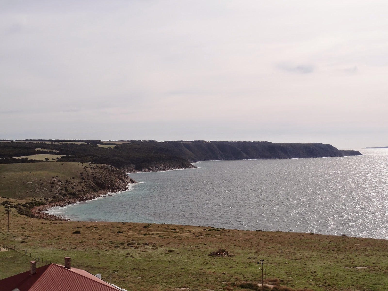 looking towards Cape St Albans