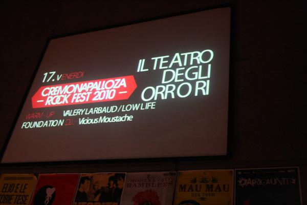 Cremonapalloza Rock Fest 2010