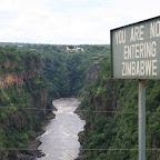 Zimbabwe/Zambia border