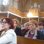 A környékbeli evangélikus gyülekezetek tagjai