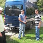 A felvidéki önkéntesek - Kulik Árpád, Takács Norbert és a sofőr