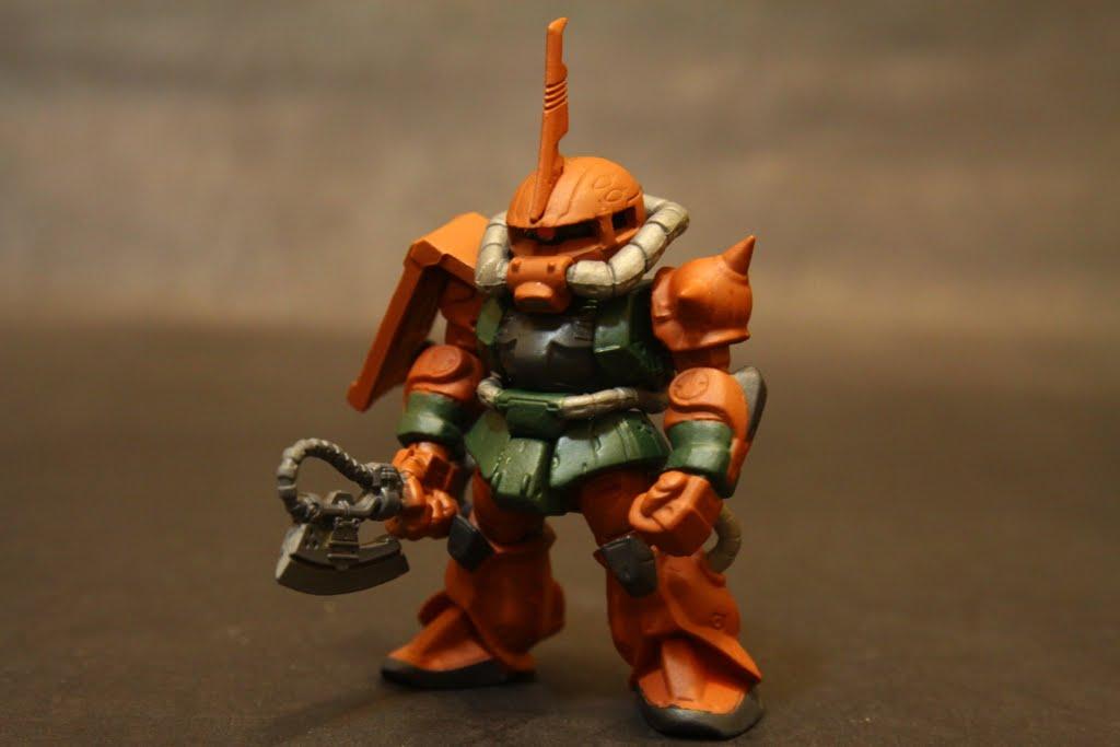 隱藏版 Zaku II(卡爾瑪專用機)