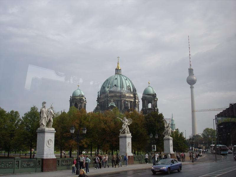 The Berlin Tower and a Museum on Museum Island