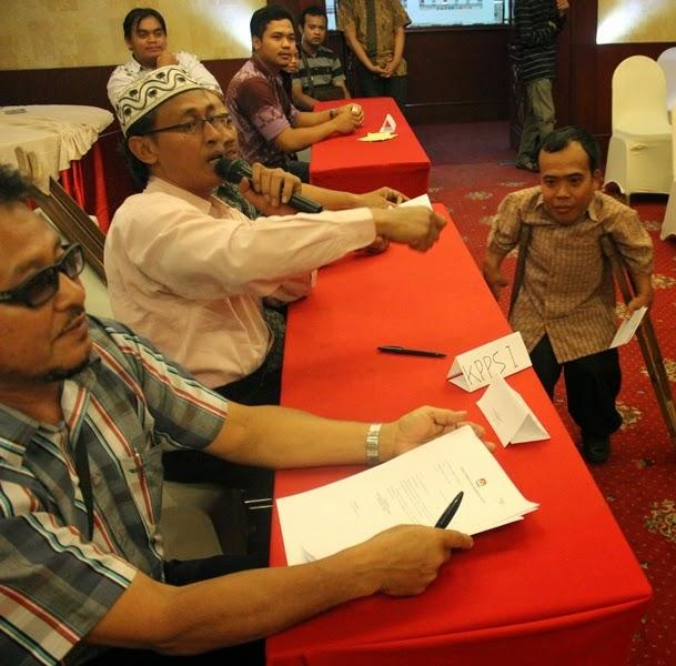 Simulation Election Voting at Observer Workshop Central Java 1-2 July 2014 - 3
