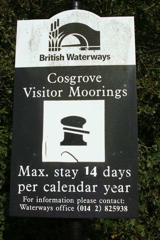 Not For Permanent Mooring