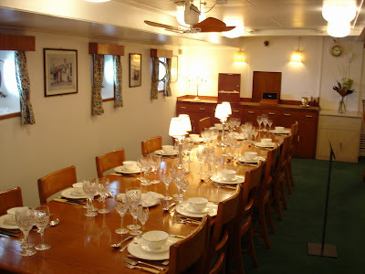 The Officers dining room