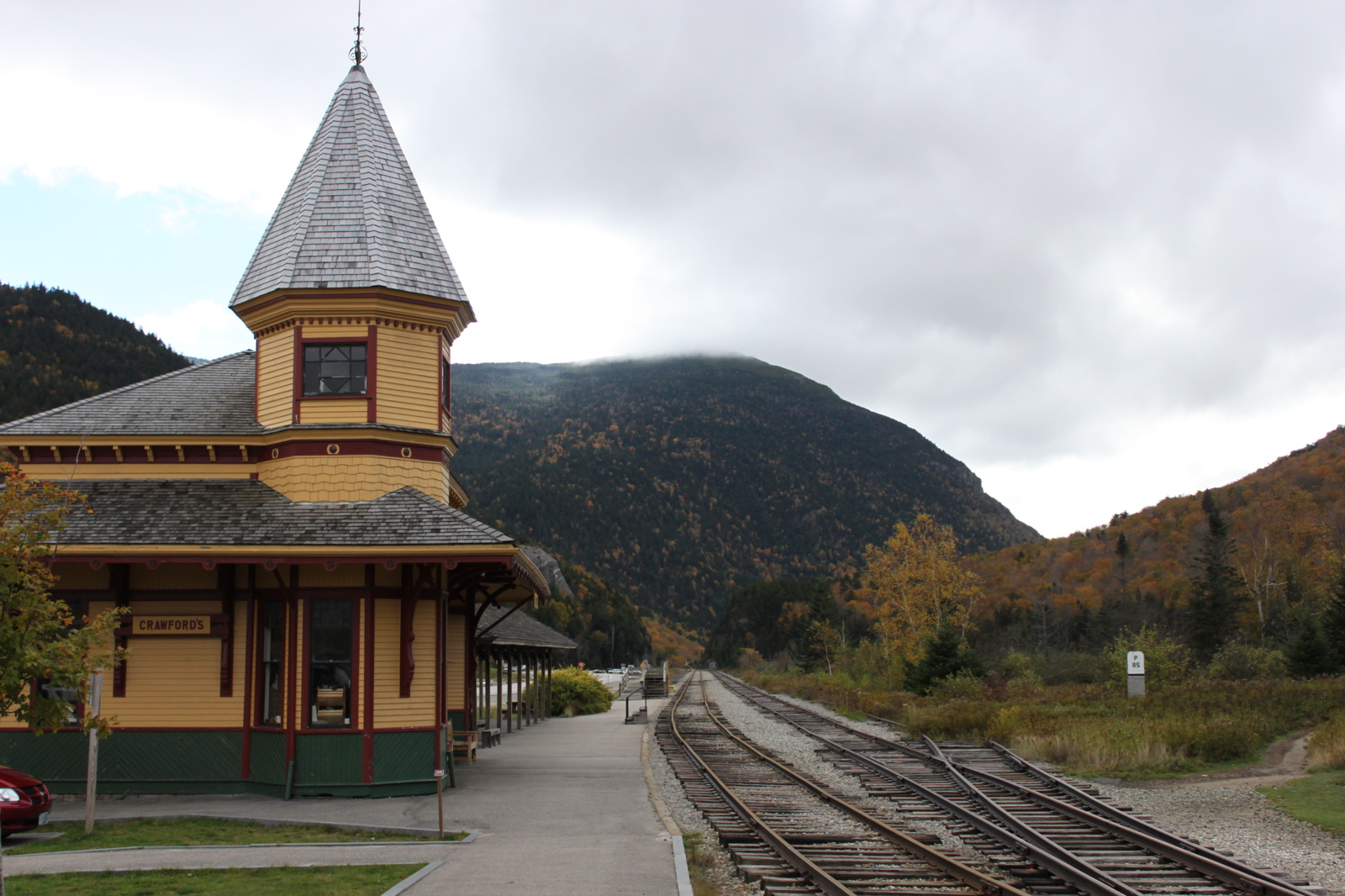 Crawford Notch, White Mountains, New Hampshire