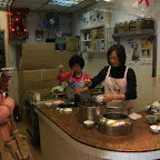 Fast-tea place on the street