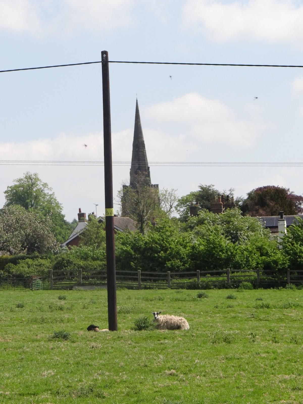 A Pole, and a Church