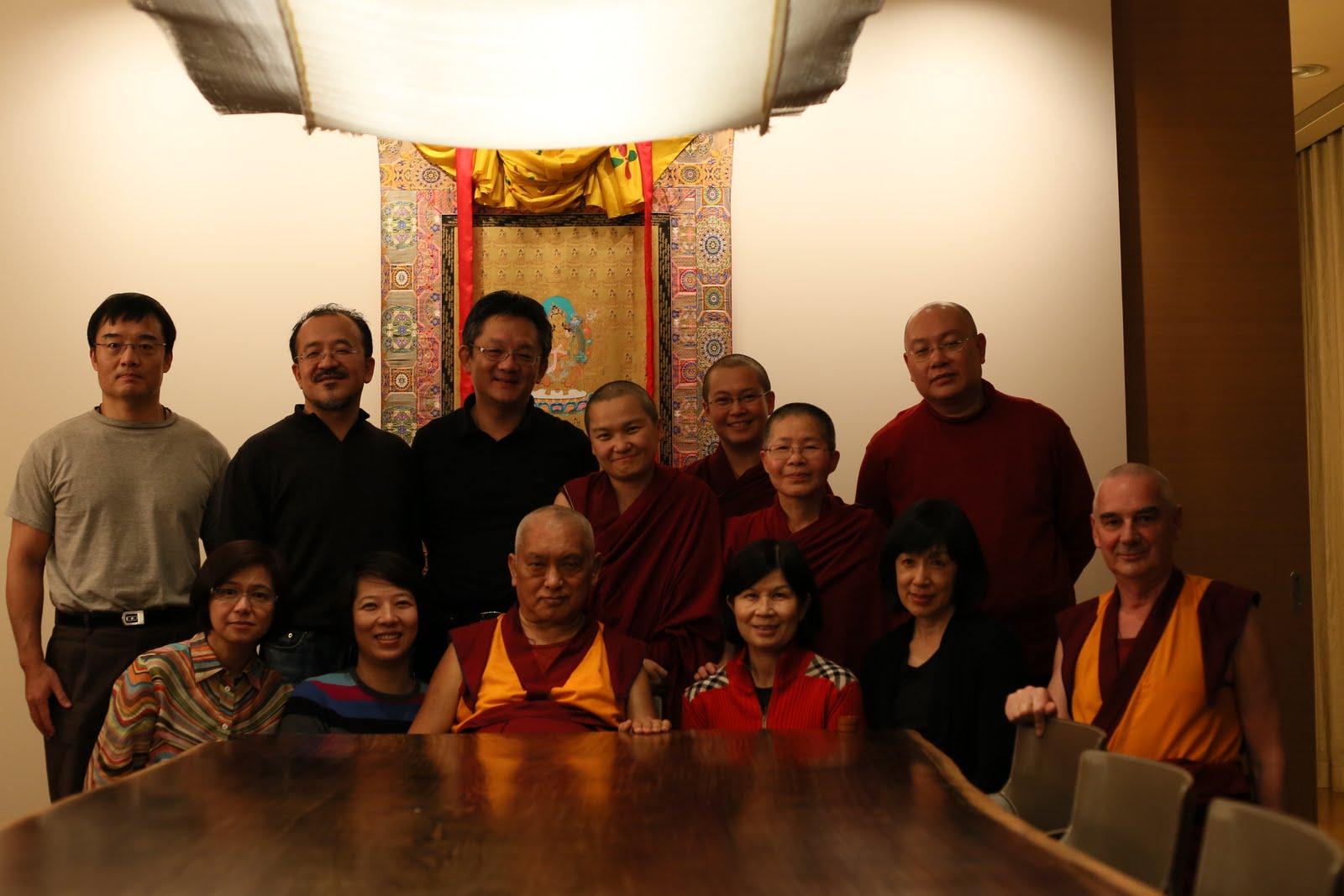 Lama Zopa Rinpoche at Jinsiu Farlin, Lama Chopa Puja.