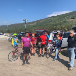 Eyecycle Riders getting ready for the Triple Bypass Ride