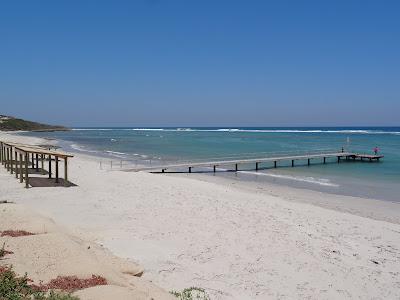 The beach at Horrocks