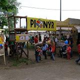 Vstup do tábora - expozice Pionýra