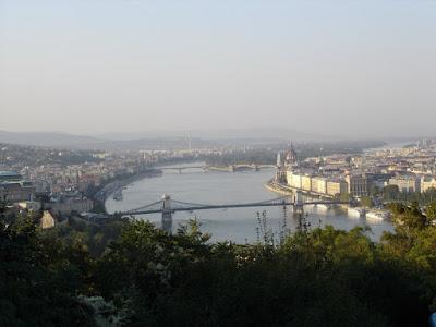 The Danube from the Citadella