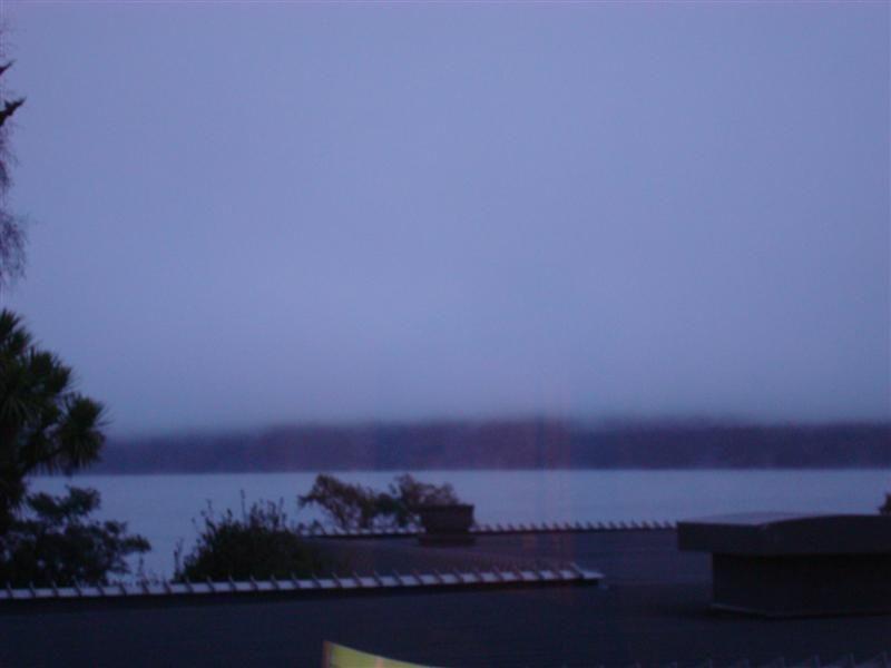 Lake Te Anau from my hotel room window