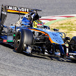 Pascal Wehrlein, Force India VJM07 Mercedes